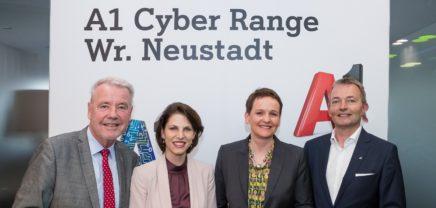 Cyber Range: A1 eröffnet Österreichs erste Cyber-Security-Akademie