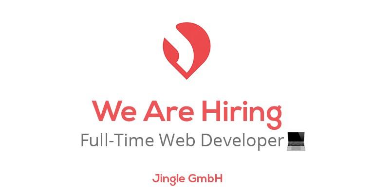 Web Developer – Jingle (full-time)