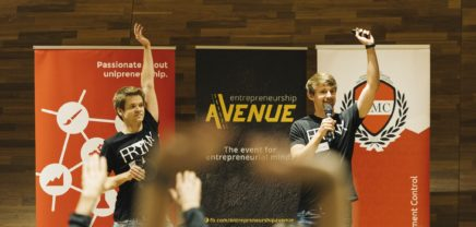 Entrepreneurship Avenue Conference: Input von Slack und N26