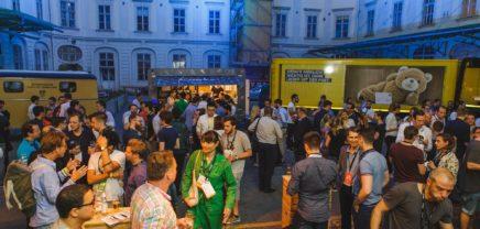 Die Post pitcht beim Pioneers-Opening Event vor Startups