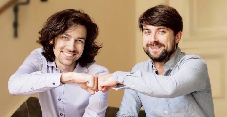 Brickblock: Die beiden Co-Founder Jakob Drzazga und Martin Mischke.