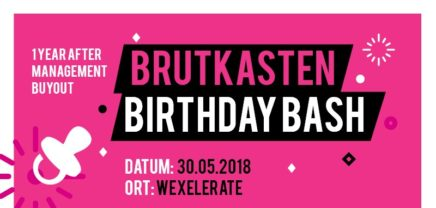 brutkasten birthday bash