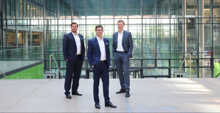 Günther Strenn, Hubert Wolfsbauer und Klaus Furtmüller
