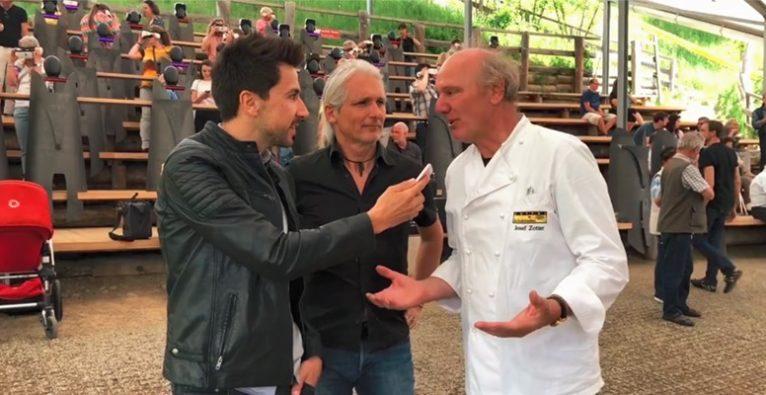 Stefan Ponsold im Interview mit Josef Zotter