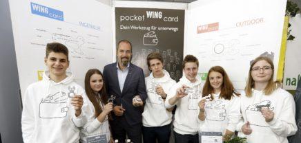 Junior Company Programm: Pocketwingcard siegt im Österreichwettbewerb 2018