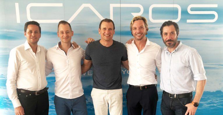 ICAROS: Millioneninvestment für VR-Fitness-Startup