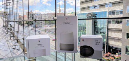 Österreich-Start von Google Home und Google Wifi