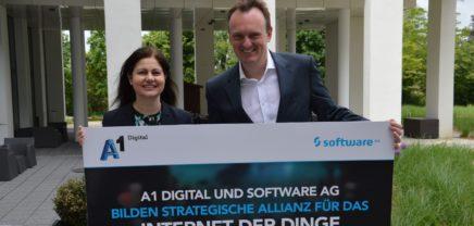 """A1 Digital und Software AG kooperieren für """"IoT-Baukasten"""""""