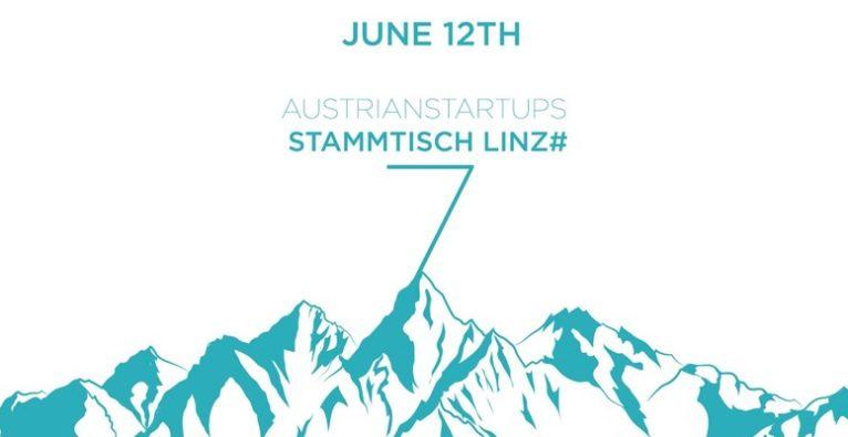 AustrianStartups Stammtisch Nummer 7 Linz Logo