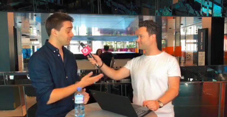 Dejan Jovicevic im Interview mit dem CEO von mimo, Johannes Berger