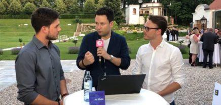 Live Interview mit den Co-Foundern von nxtbox vom riz up-GENIUS 2018