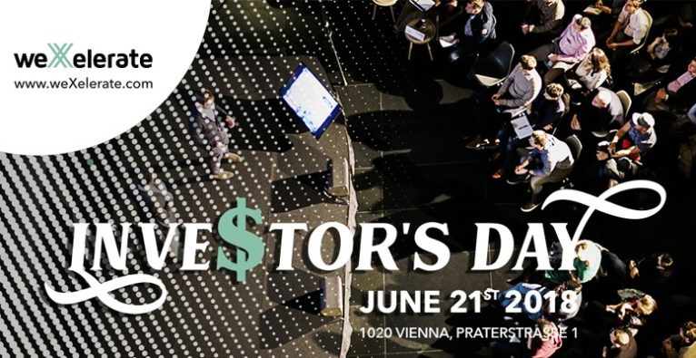 weXelerate Investor's Day