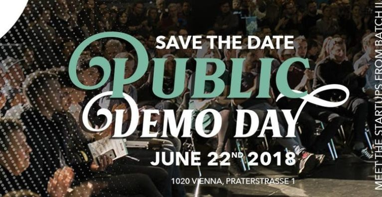 Save the date: Public Demo Day at weXelerate