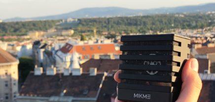 """Mikme Silver: Wiener Mikrofon-Startup mit """"Light-Version"""" auf Indiegogo"""