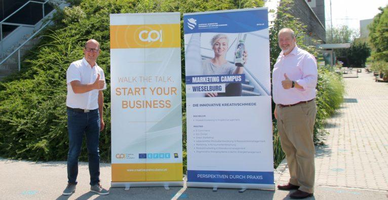 CPI - Creative Pre-Incubator für FH-Spinoffs startet in AMU Wieselburg