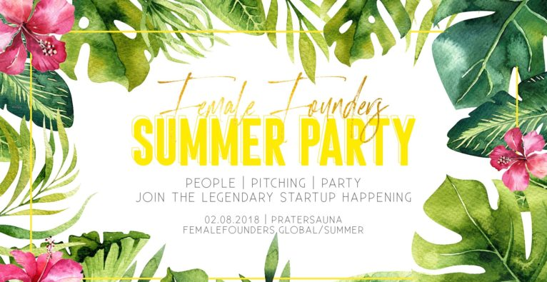 People, Pitch & Party: Female Founders laden wieder zur Sommerparty