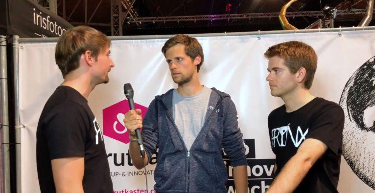 Philip Hofmacher im Interview mit Christian Strobl und Peter Mühlbacher von Frynx