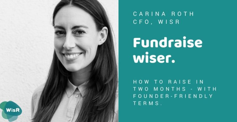 Fundraise wiser. by WisR