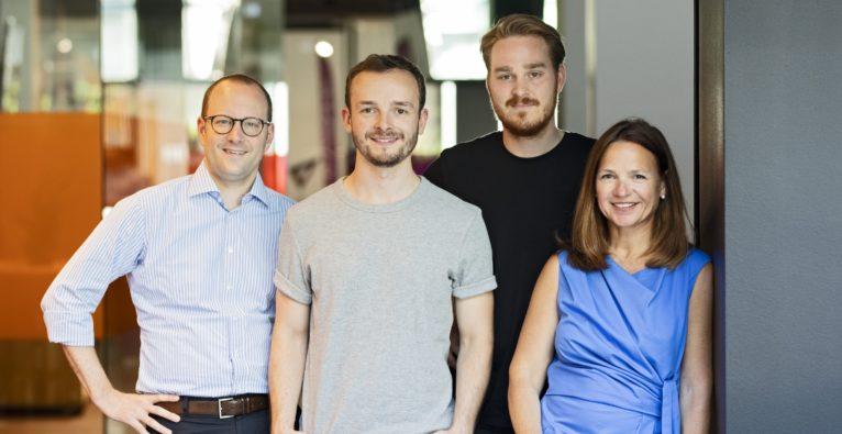 Das Speedinvest i-Team rund um Heinrich Gröller (l.) und Marie-Helène Ametsreiter (r.) - 50 Millionen Euro für Industrial Tech Startups