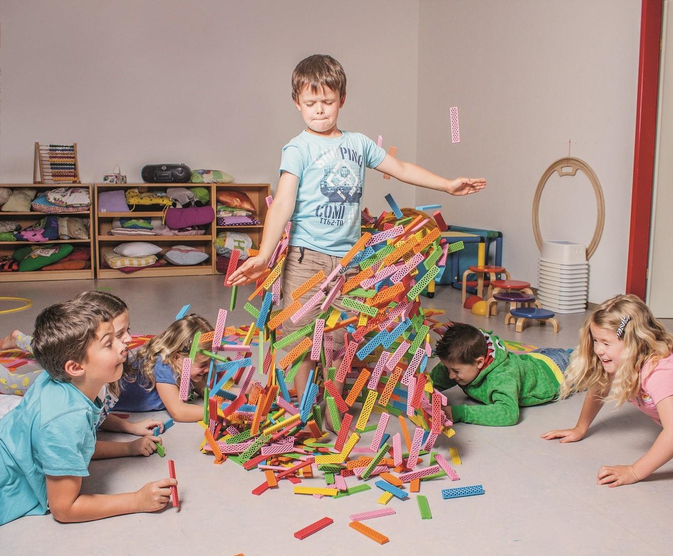 Bioblo, Spielwaren, Bausteine, Spielzeug, Umwelt, Umweltzeichen, Nachhaltigkeit