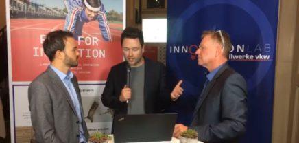 Live im Interview mit Lukas Meusburger und Gerhard Günther