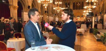 Live vom Fördertag der Wirtschaftsagentur Wien mit Christian Bartik