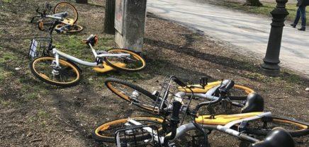 Bike Sharing-Anbieter oBike offenbar pleite