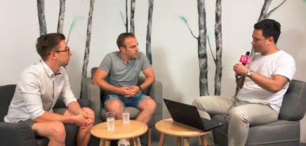 Hackaboom – CEO David Dietrich & Business Developer Dominik Meyer im Live Interview