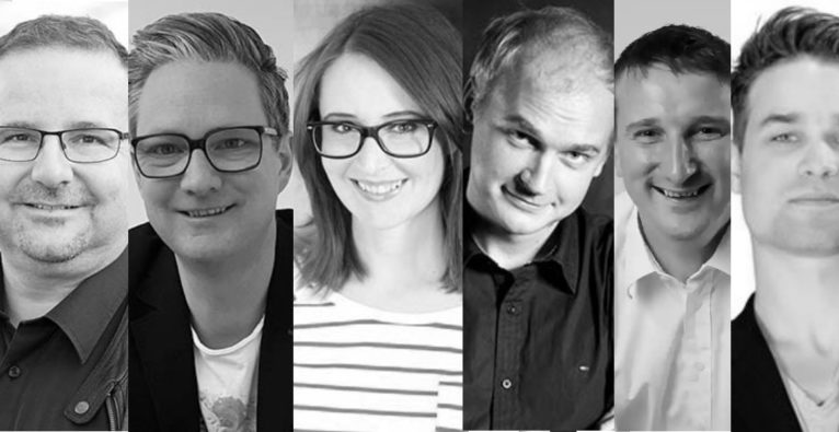 MAD (vlnr.) Wieland Alge, Walter Ischia, Christina Scholohow, Florian Scholohow , Markus Walcher, Fabian Rauch