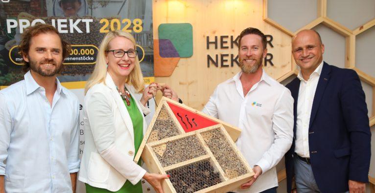 Hektar Nektar Projekt 2028 aws ffg Förderung Schramböck