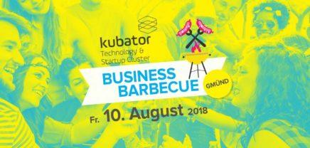 kubator Business Barbecue in Gmünd