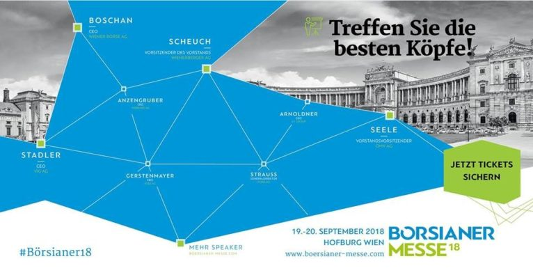 Börsianer Messe 18 am 19.-20. September