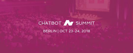 Chatbot Summit Berlin 2018