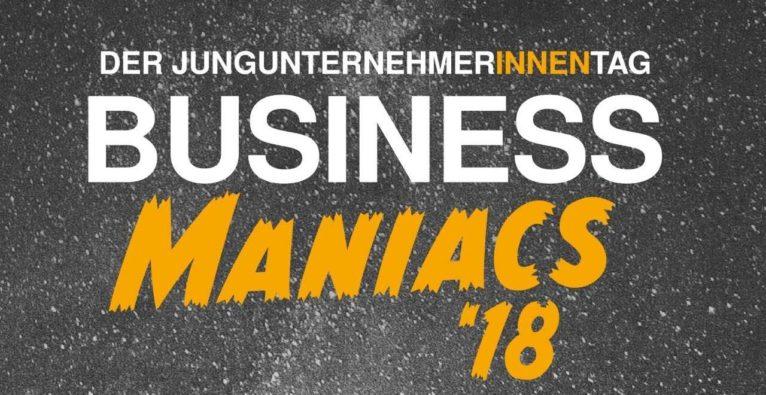 Der JungunternehmerInnen Tag - Business Maniacs 18