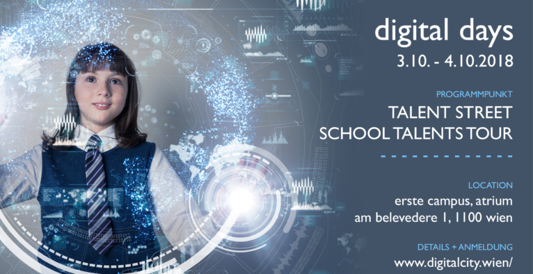 DigitalDays SchoolTalentsTour 3.10-4.10.18