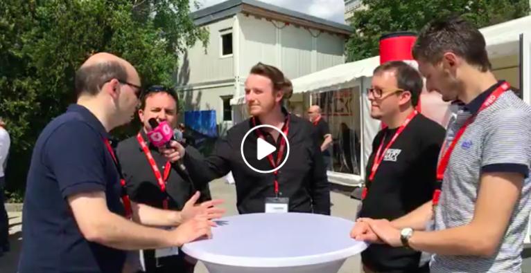 Live Interview mit den Siegern und Organisatoren des Drei-Länder-Hack