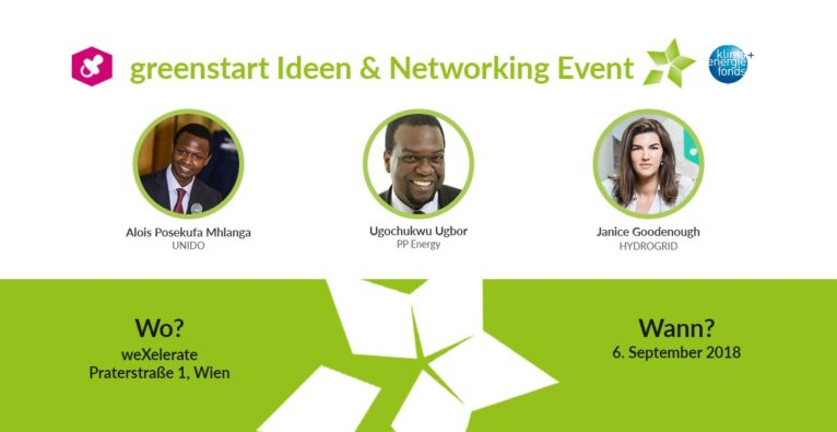 Speaker greenstart Ideen & Networking Event