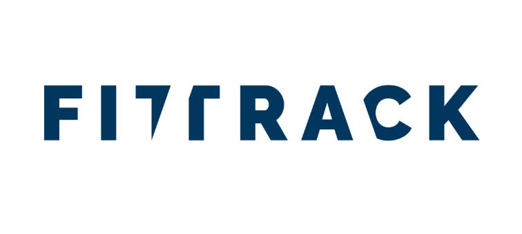 Fittrack Logo (blauweiss)