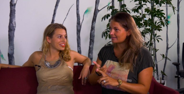 Die Freedom X Fest-Organisatorinnen Karoline Zizka und Gyulai Orsolaya