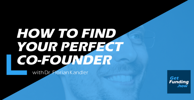 How to find your perfect co-founder with Florian Kandler