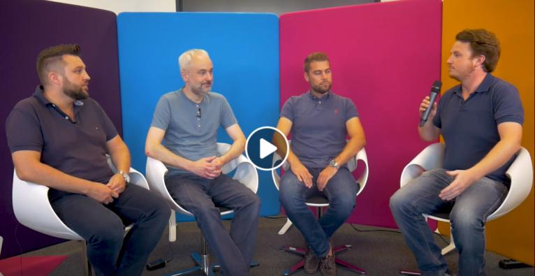 Enzinger, Elias und Schwarzbach über Smart Drone Inspection Interview 14.08.2018