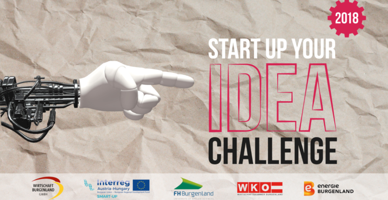 Start Up Your Idea Challenge 31.08.2018 Burgenland