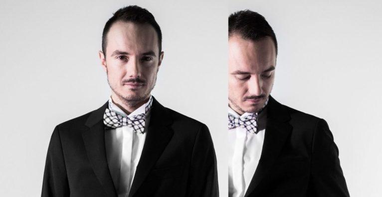 The Future Ball. Julian Wiehl, CEO des Vangardist Magazine und Veranstalter des Future Ball 2018.