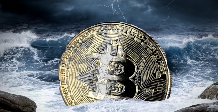 Bitcoin-transaktionsvolumen wächst nur moderat, ICOs stürzen ab