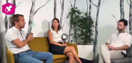 Christoph Wolfsegger und Cornelia Daniel zum greenstart Call 2018