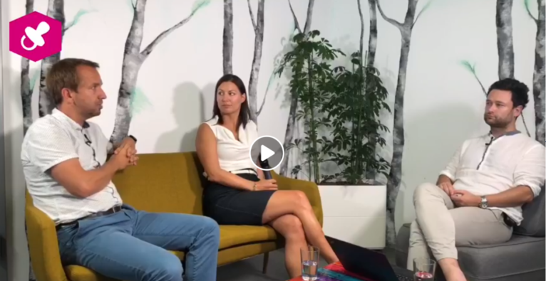 Christoph Wolfsegger, Programm Manager bei Greenstart und Cornelia Daniel, Initiatorin von Tausendundein Dach im Liveinterview