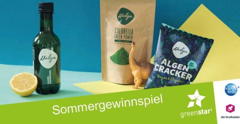 (c) greenstart/der brutkasten. Beim Sommergewinnspiel von greenstart gibt es sieben Wochen lang sieben Preise zu gewinnen.
