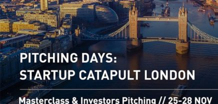 Call: Pitching Days – Startup Catapult London