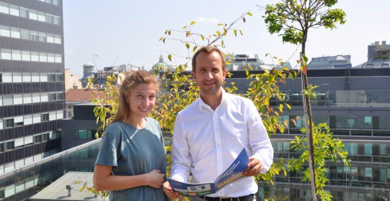 Miriam Schönbrunn und Christoph Wolfsegger über greenstart, Klimaschutz und Startups