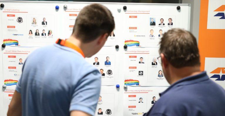 Impression vom Innovation Camp der vorigen Innovation Challenge - Neuer VC Smartworks von Wien Energie und Wiener Stadtwerke